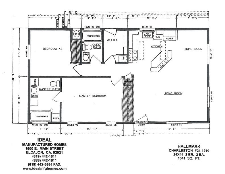 Hallmark Manufactured Homes Floor PlansManufacturedHome