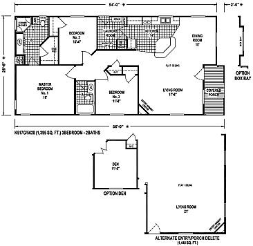 Sunset ridge skyline floorplans for Ideal homes floor plans