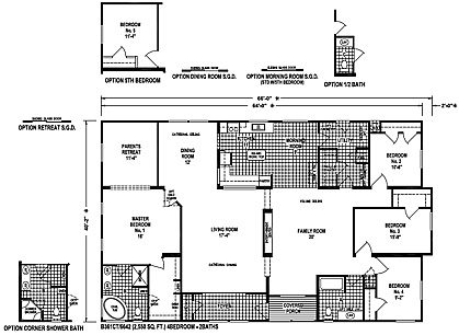 Custom Villa Floorplan