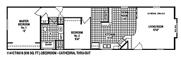 Pine Ridge Floorplan